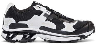 11 By Boris Bidjan Saberi Black and White Salomon Lab Edition XT-4 Sneakers