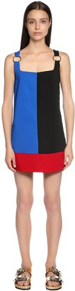 Fausto Puglisi Color Block Cady Dress