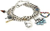 """Marc Jacobs Resort 2016"""" Blue Multi-Clouds and Rainbow Charm Bracelet"""