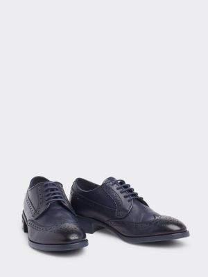 Tommy Hilfiger Flat Brogue Design Shoes