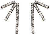 Eva Fehren Black Gold Diamond Sputnik 3 Earrings
