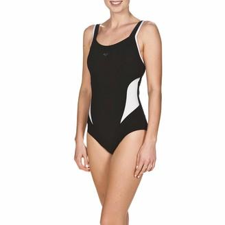 arena BODYLIFT Women's Bodylift Cut Out Back Makimuraxtummy Flattening Swimsuit