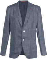 Isaia classic blazer - men - Silk/Linen/Flax/Cupro/Wool - 56