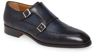 Magnanni Ryan Double Monk Strap Shoe