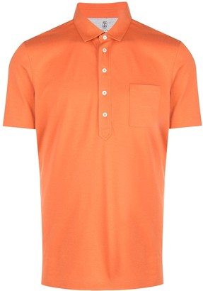Brunello Cucinelli Short-Sleeved Polo Shirt