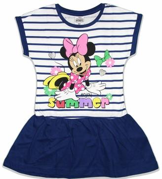 Disney Minnie Mouse Girls Cotton Summer Dress (8 Years