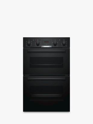 Bosch Serie 4 NBS533BB0B Built-Under Double Oven, Black