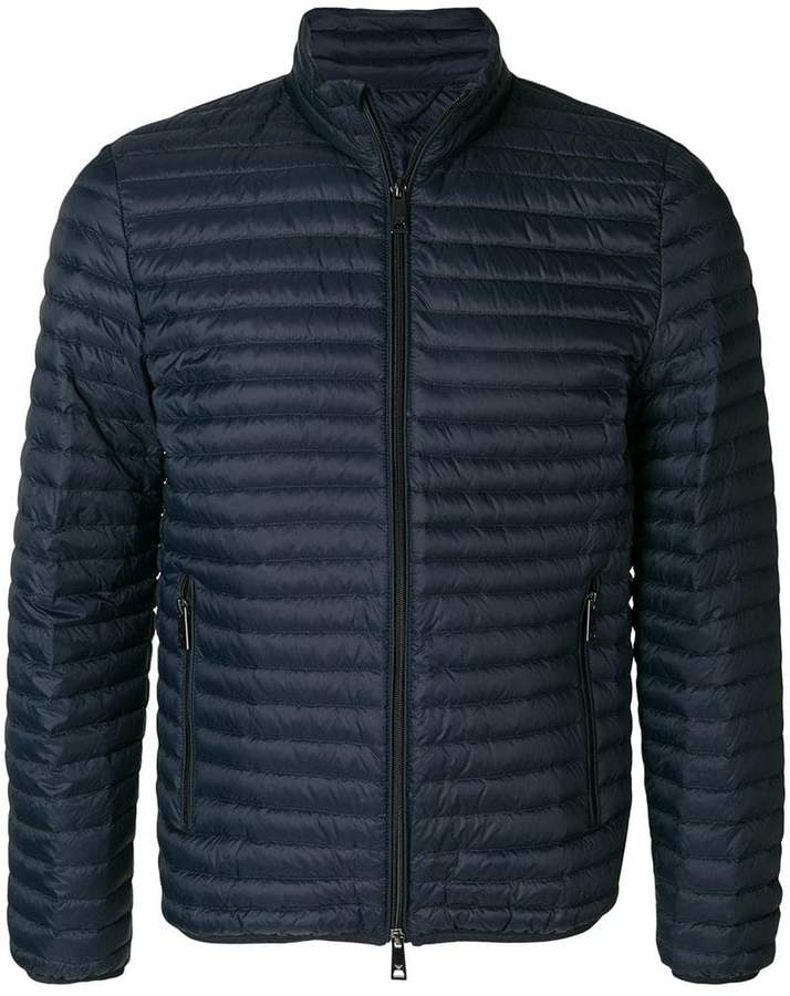 Emporio Armani padded zip-up jacket