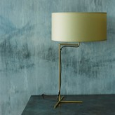 Graham and Green Victor Brass Cross Table Lamp
