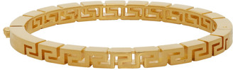 Versace Gold Greek Key Bracelet