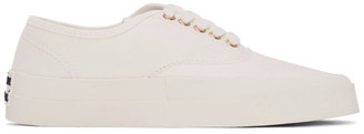 MAISON KITSUNÉ White Laced Sneakers