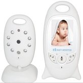 KOBWA Wireless Video Baby Monitor Security Digital Audio Camera with Thermometer/ Night Vision/ Two Way Talk System