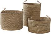 Serena & Lily Laguna Seagrass Baskets (Set of 3)