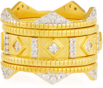 Freida Rothman Visionary Fusion Crown Rings, Set of 5, Size 7