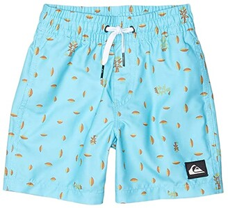 Quiksilver Pacific Volley (Toddler/Little Kids) (Pacific Blue) Boy's Swimwear
