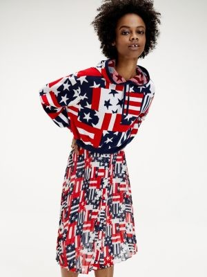 Tommy Hilfiger Stars And Stripes Oversized Fit Jumper