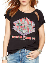 Denim & Supply Ralph Lauren French Terry World Tour Graphic Tee