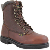 """AdTec Men's 1050 10"""" Steel Toe Work Boot"""