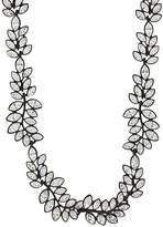 Kenneth Jay Lane WOMEN'S LEAF-SHAPED COLLAR NECKLACE