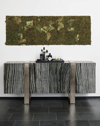 Bernhardt Linea Black Forest Marble Console