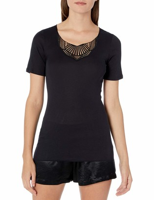 Hanro Women's Adina Short Sleeve Shirt