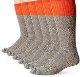 Dickies Men's 5 Pack Cotton Boot Crew Socks