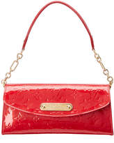 Louis Vuitton Red Monogram Vernis Leather Sunset Boulevard