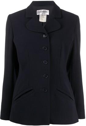 Yves Saint Laurent Pre Owned Slim-Fit Blazer Jacket