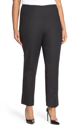 Nic+Zoe 'Perfect' High Rise Side Zip Pants
