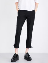 Sportmax Teano cropped stretch-cotton trousers