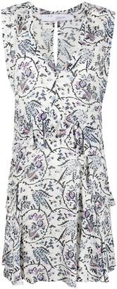 IRO floral print tiered dress