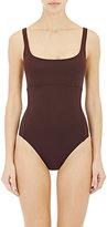 Eres Women's Arnaque One-Piece Swimsuit-DARK BROWN