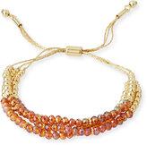 Fragments for Neiman Marcus Crystal-Beaded Pull-Tie Bracelet, Multi