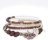 Alex and Ani Moth Art Infusion 5-Piece Bangle Bracelet Set