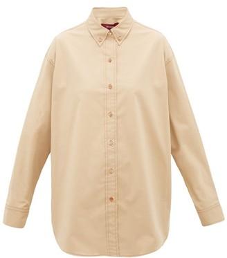 Sies Marjan Kiki Cotton-blend Shirt - Beige