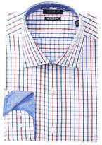 Tailorbyrd Check Non-Iron Trim Fit Dress Shirt