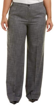 Marina Rinaldi Plus Wool-Blend Pant