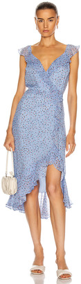 Veronica Beard Amal Dress in Blue Multi | FWRD