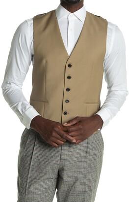 Reiss Barolo Gaberdine Mixer Waistcoat Vest