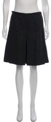 Chanel Wool & Cashmere Shorts