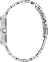 GUESS Sugar Crystal Silver Glitz Logo Dial Bracelet Watch