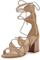 Alexandre Birman Meghan 60mm Suede Gladiator Sandal
