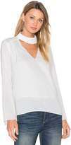 Lucy Paris Sylvia V Neck Top