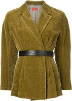 TOMORROWLAND belted blazer