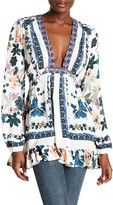 Free People Violet Hill Floral Printed Tunic