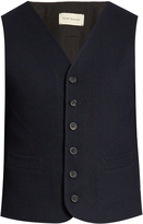 Oliver Spencer Aspley cotton and wool-blend waistcoat