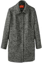 Joe Fresh Women's Long Tweed Jacket, Dark Grey (Size L)