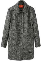 Joe Fresh Women's Long Tweed Jacket, Dark Grey (Size M)