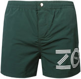 Kenzo logo print swim shorts - men - Nylon/Polyester - M