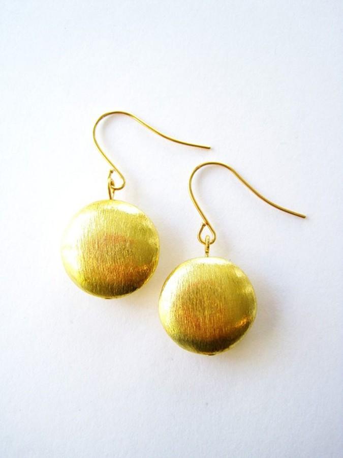 K. Amato Coin Earrings